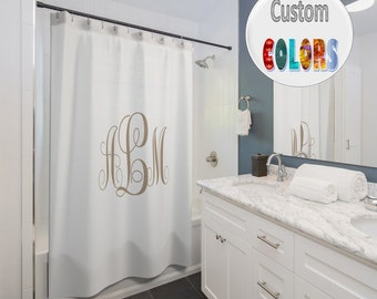 Popular Items For Shower Curtain Monogram