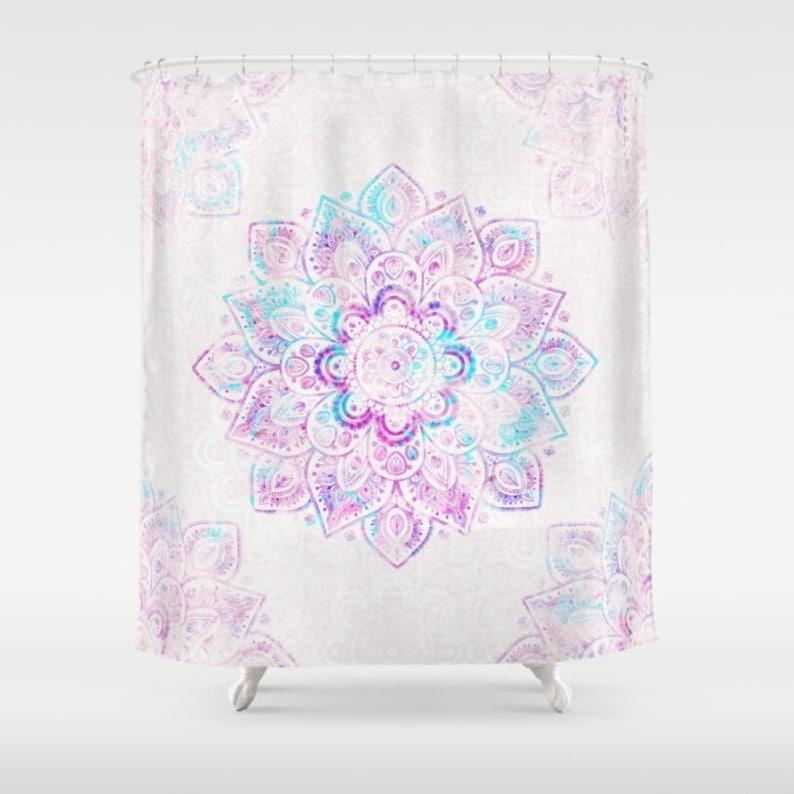 Shower Curtain Winter Fiery 71 By 74