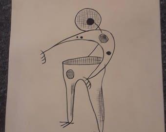 Mathias goeritz drawing