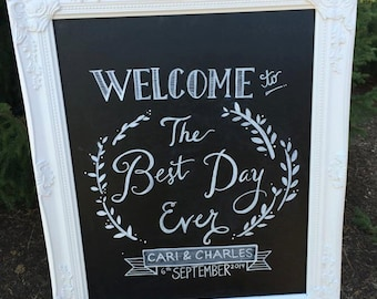 Best Day Ever & Our Love Story | A Chalkboard