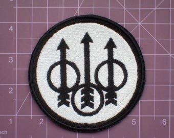 171598c1092 Beretta Firearms B W Embroidered Patch Guns