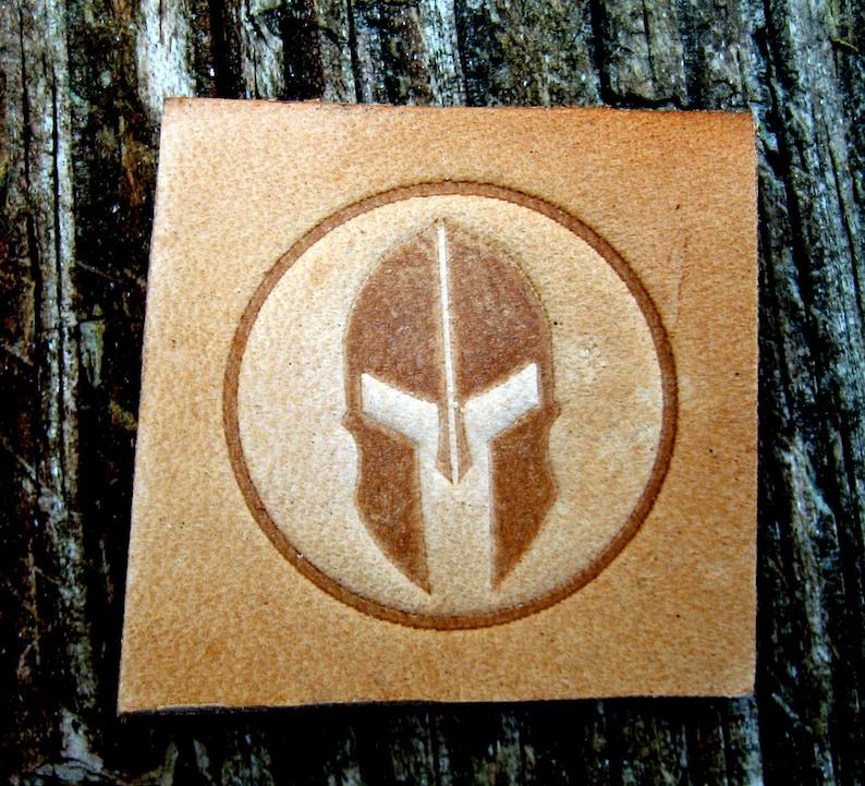 Embossing Stamp Spartan Helmet Leather Tooling Clicker Jpg 794x721 Cool Designs