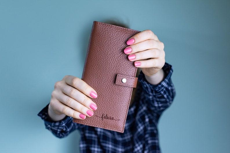 7073aaf6c122 Personalized leather wallet-travel organizer-custom leather wallet-passport  keeper-groomsmen gift-travel passport holder-monogram wallet