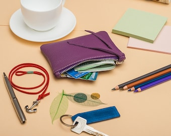 Leather coin purse coin purse leather wallet leather purse coin pouch leather pouch leather coin pouch coin wallet change purse small wallet