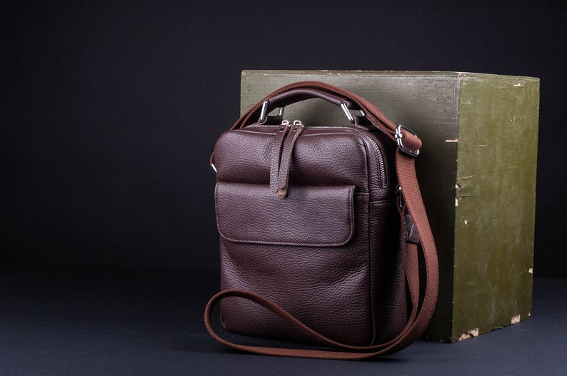 HUGE SALE Mens leather crossbody leather messenger bag  12b206ab38f72