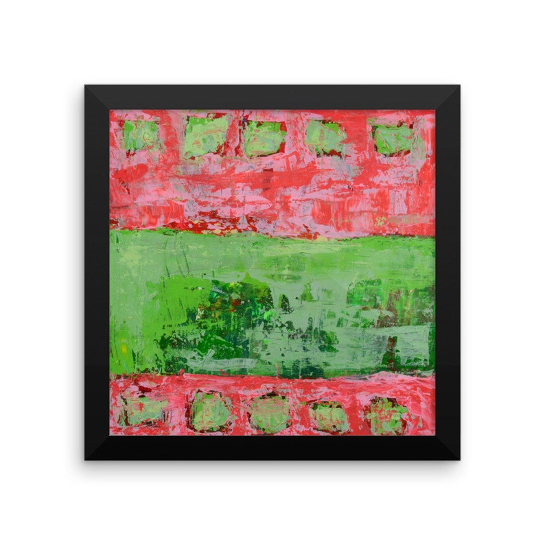 Framed Abstract Expressionism Artwork image 0