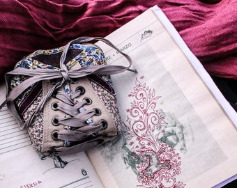 Flower Print Purse Made Of Shoes
