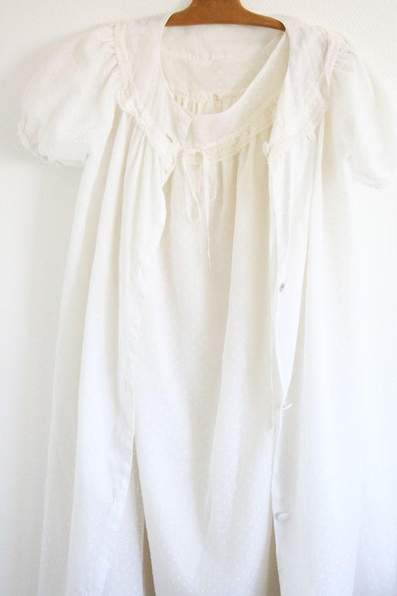 Ensemble /// Robe de nuit + Robe de chambre