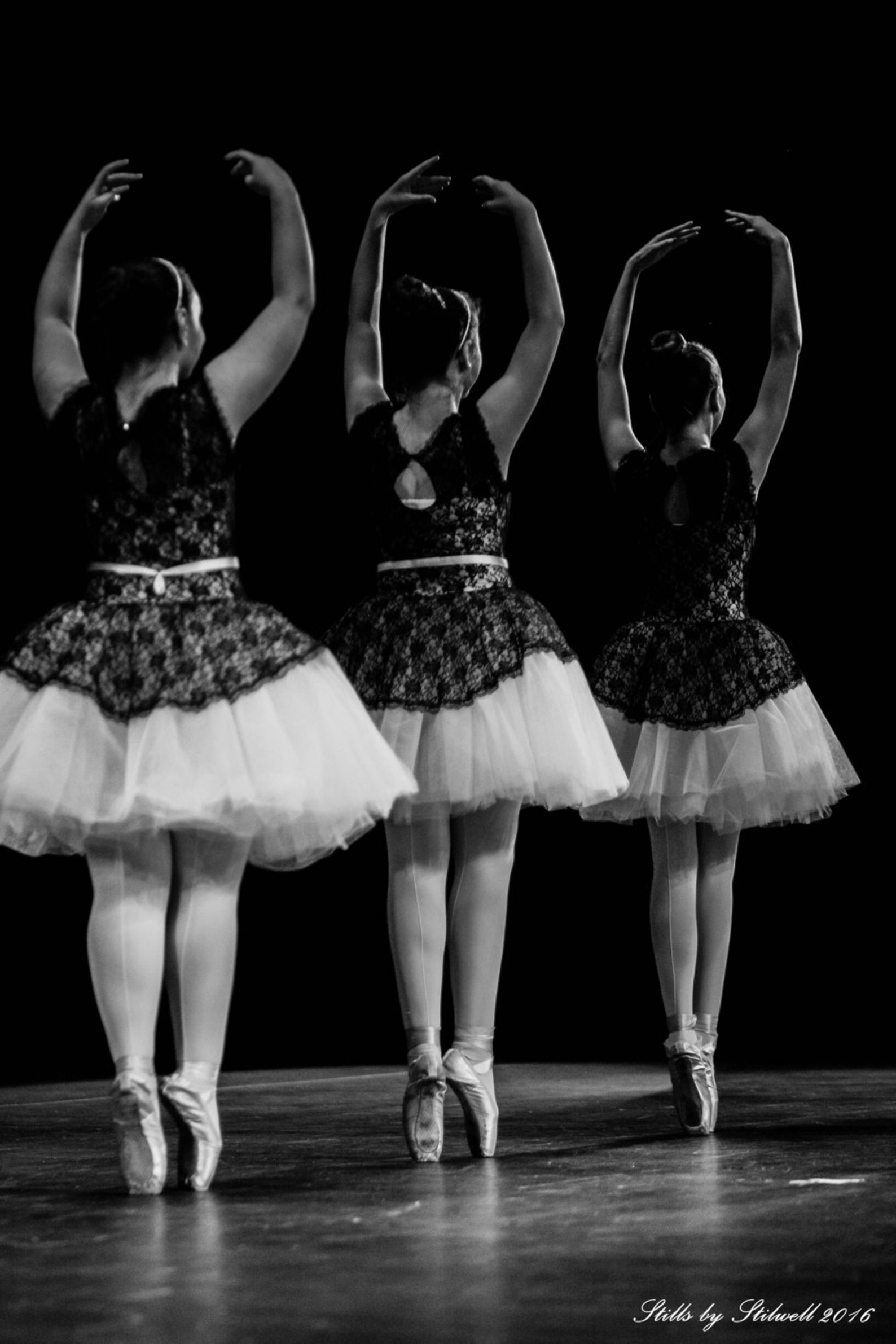 ballet photography ballerina on pointe ballet dancers print black & white photo dance studio decor little girls room nursery dec