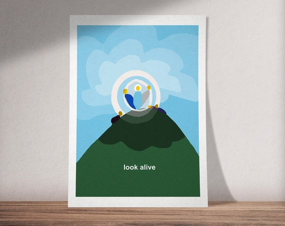 The Transfiguration | Look Alive |  Matthew 17 | Available as Art Print or Download