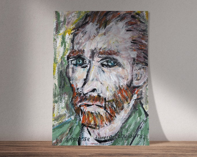 Art on Vincent van Gogh | Sorrow and Joy | Available as Original Painting, Print or Download