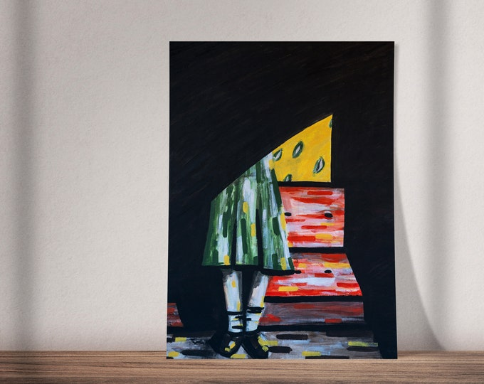 Art on Refugees | Buy One & Give One Away Free | My Name Is My Home | Read the Story Below! | Original Painting, Print or Download