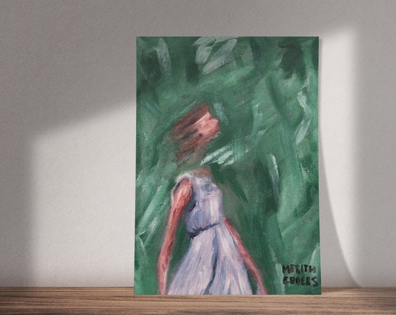 I've Got Freedom | Girl Dancing | Available as Original Painting, Print or Download