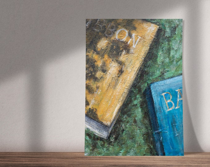 Art on The Voyage Out by Virginia Woolf |Buy One & Give One Away Free | Books in the Grass | Original Painting, Print or Download