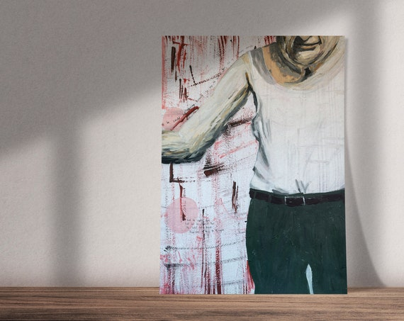 Art on Hidden Love Inspired by Virginia Woolf's Mrs. Dalloway | Buy One & Give One Away Free | Original Painting, Print or Download