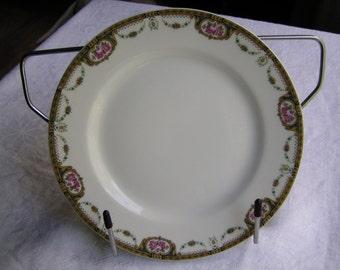 Tressemann & Vogt La Cloche Limoges Bread Plate circa 1907-1919