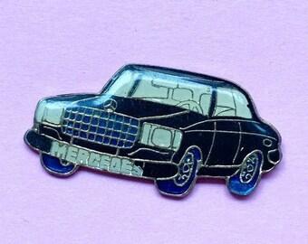 Automotive collectibles Mercedes Benz logo tac style pin