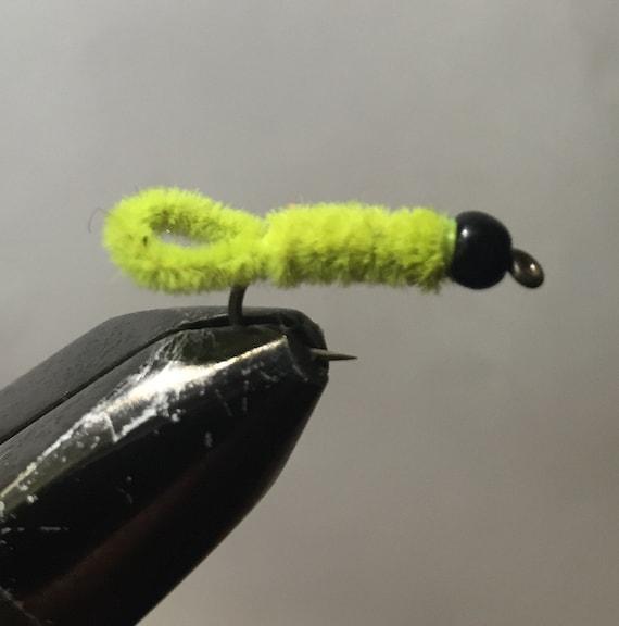 Green Wennie Bead Head Premium Nymph Flies Sizes Available*** One Dozen