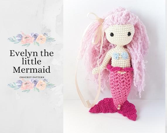 Sweet Little Mermaid amigurumi pattern - Amigurumipatterns.net | 456x570