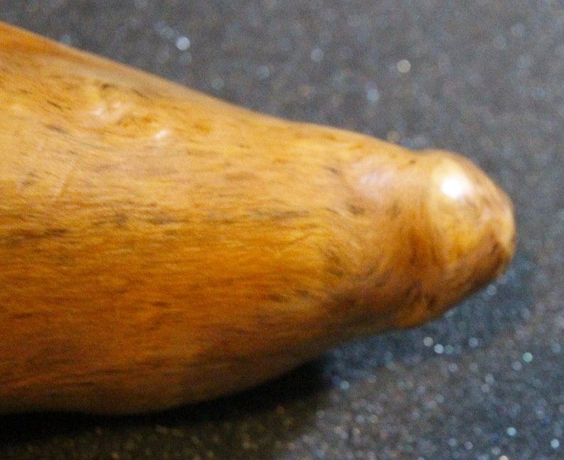Small Dildo  Sex Toy Nature Made From Cypress Wood image 0