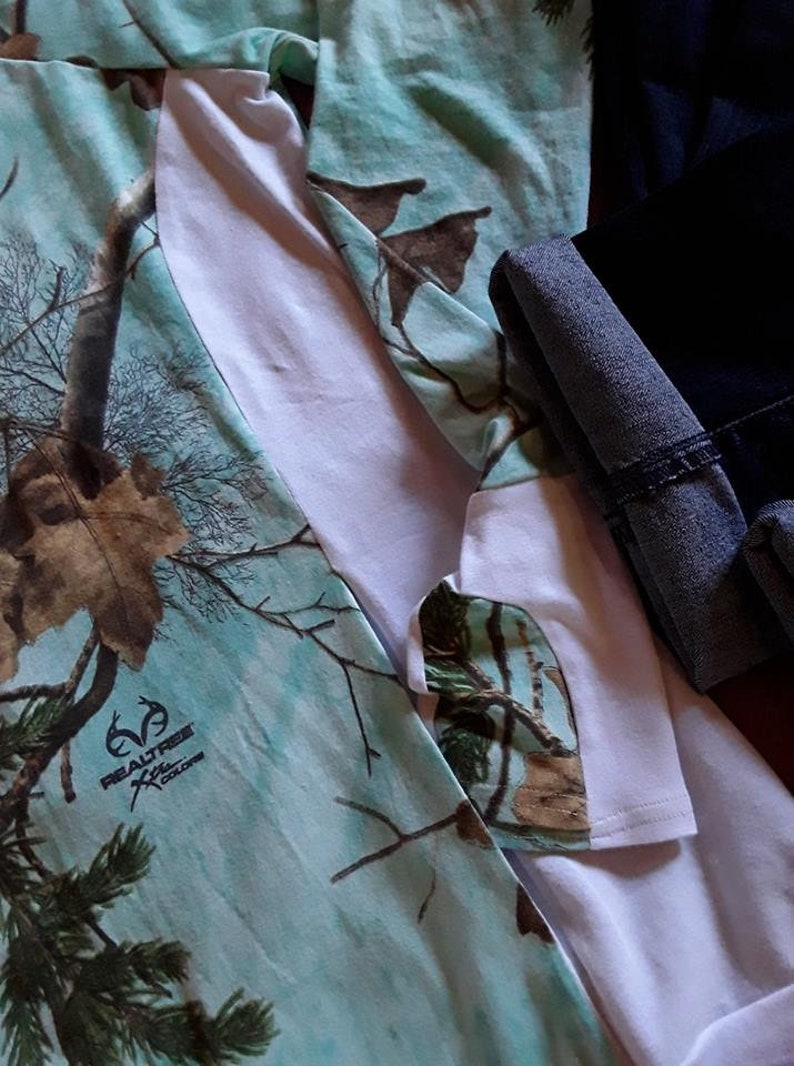 f019e65ad5b23 Realtree Xtra Teal Camo Womens Teen Sweatshirt Pullover Custom | Etsy