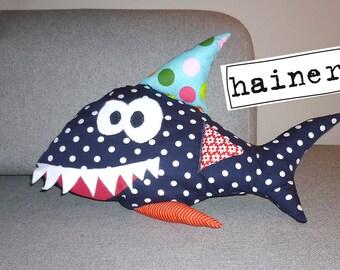 Habte the stuffed shark