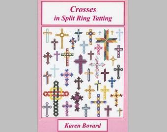 Crosses in Split Ring Tatting Book