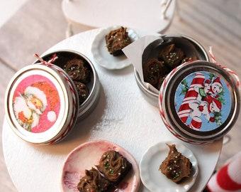 Barbie 1:6 Kitchen Food Miniature Handmade Box of Chocolate Pop Tarts cc