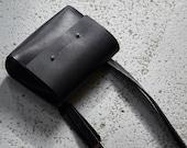 Leather Crossbody Bag /Elena/ black leather bag leather shoulder bag small leather bag leather tote bag for women small leather handbag gift