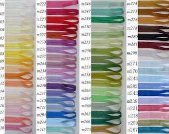 3yards silk ribbon -2mm,4mm,7mm,10mm,13mm silk trim