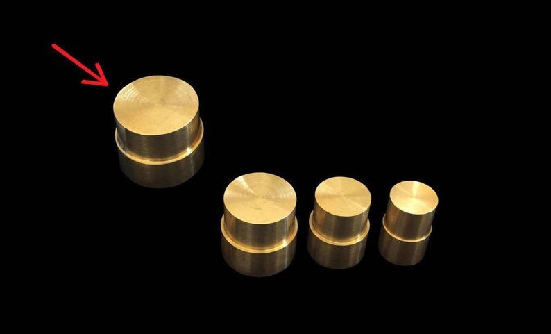 EXTRA LARGE Direct Replacement Brass Pushrod Plunger for image 0