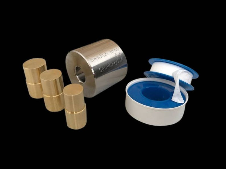 TINY .55 x .9 Swedish Wrap KIT for all Dime-sized to image 0