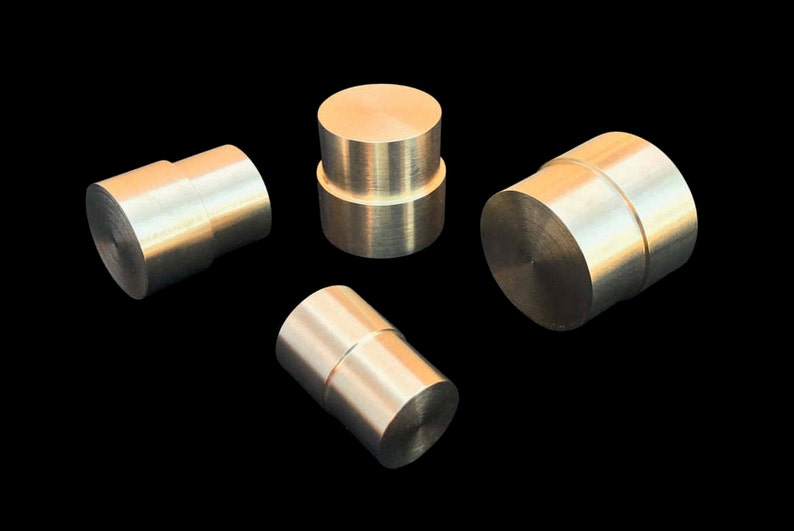 Brass Push Rod Plunger SET for the Swedish Wrap Method with 8 image 0