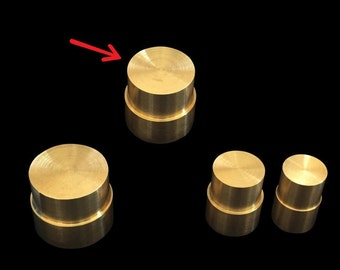 """LARGE Direct Replacement Brass Pushrod Plunger for Extruding """"Swedish-Wrapped"""" Coin Rings"""