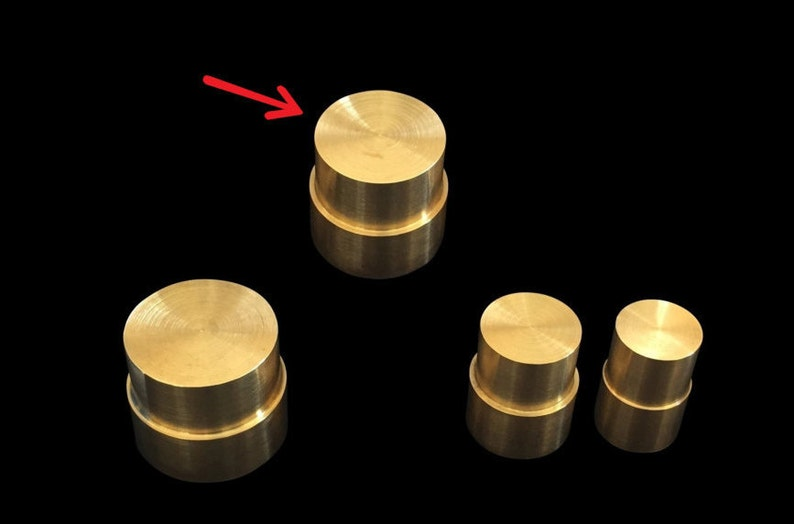 LARGE Direct Replacement Brass Pushrod Plunger for Extruding image 0