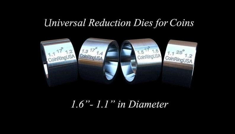 The ORIGINAL 4-Die Set UNIVERSAL Reduction/Folding Dies image 0