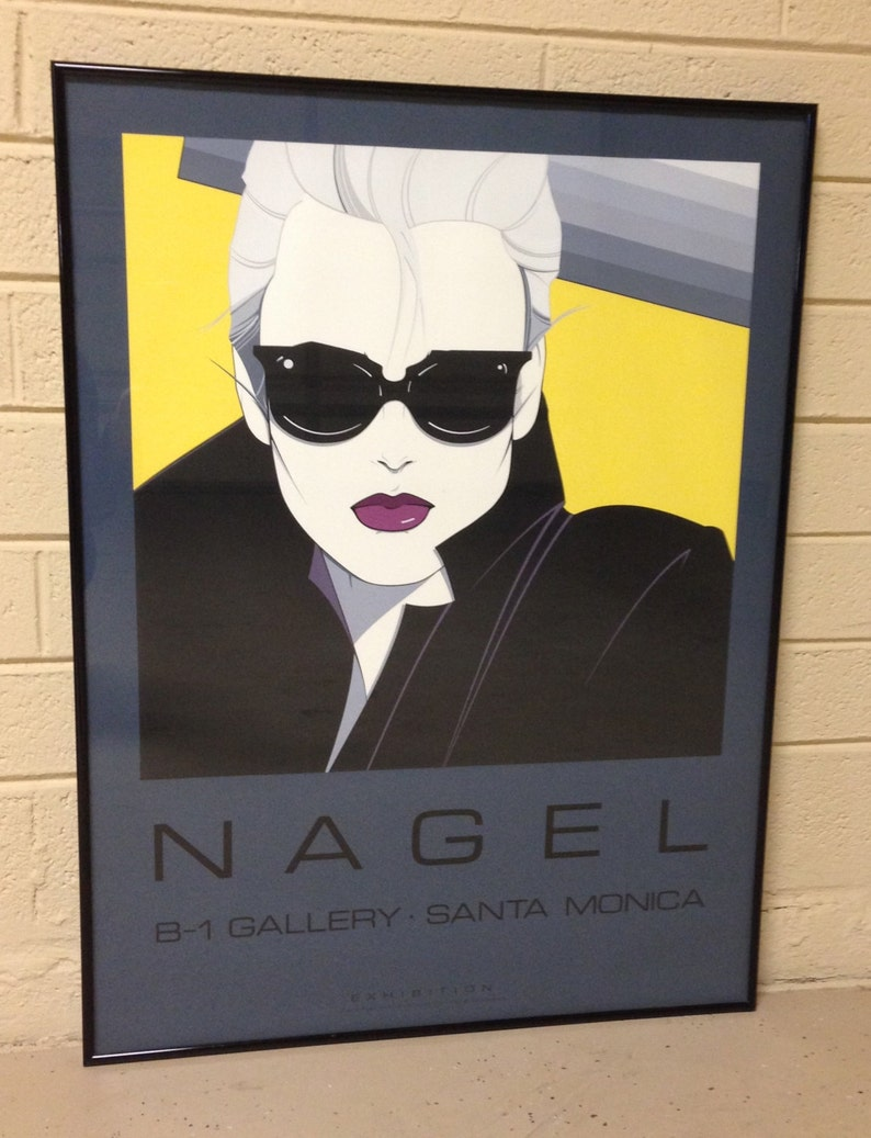 35be7ea34af4 Original Patrick Nagel Mint Conditon Fifth in the Series
