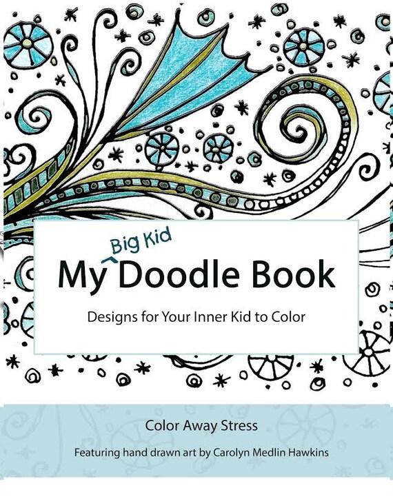 Mi libro de garabato de niño grande: Diseños para tu niño   Etsy