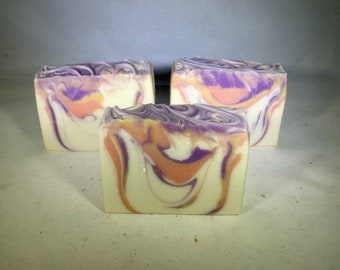 Pink Berry Champagne Handmade Soap
