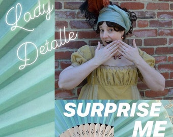 SURPRISE ME Earrings Listing, LadyDetalle Will Choose a Pair of Historical ERA Earrings for you, Special price, Mystery Box, Surprise