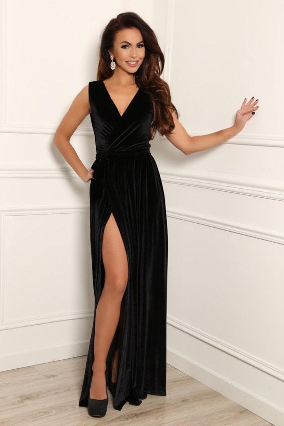 Black Maxi Dress Bridesmaid