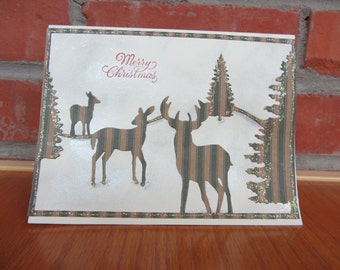 Woodland Christmas Card