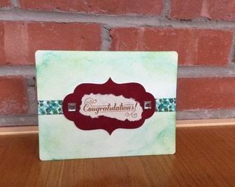 Glamorous Congrats Card