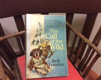 Vintage 1959 Book The Call of the Wild byJack London, 3rd Printing Collectible Book