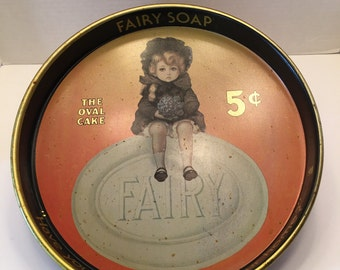 Fairy Soap Tray~~The Oval Soap~~Have You a Little Fairy in Your Home~~Man cave