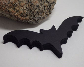 Bat Die Cuts Set of 40, Embellishments, Decorations, Scrapbooking, Gift tags, Treat tags, Crafts, Halloween, Fall, Party favors VTC-0227