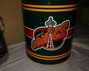 "vintage housewares Vintage Seattle Super Sonics  11"""