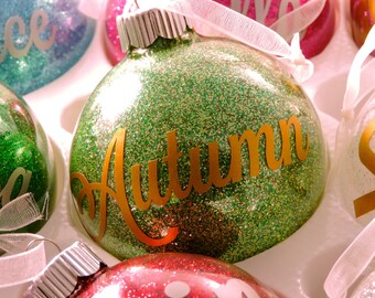 Customized Birthstone Ornament