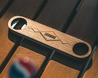 Personalized Bottle Opener - Custom Engraved Bartender Bottle Opener - Cool Groomsmen Gift