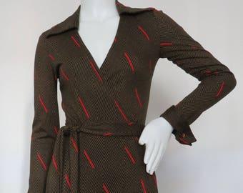 Rare Vintage Original 1970s Diane von Furstenberg Wrap Dress